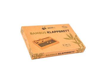 Pandoo Klapbræt Spil I Bambus