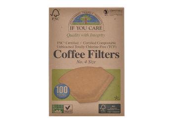 If you care Kaffefilter Ubleget No. 4