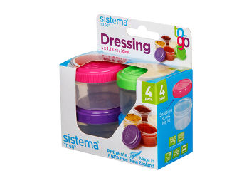 Sistema Minibox Dressing To Go 4x35 ml ass. farge
