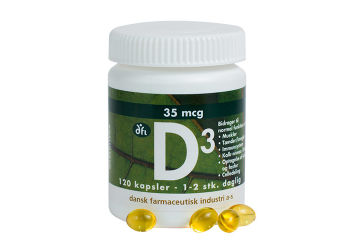 DFI D3-vitamin 35 mcg