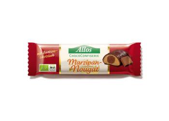 Allos Choklad Marsipan Och Nougatbar Ekologisk