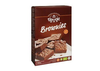 Bauck Hof Brownies Mix Glutenfri Eko