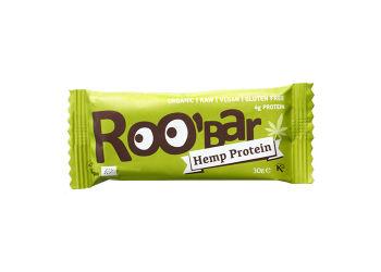 ROO'bar Bar Med Hamp Ø Raw Roobar