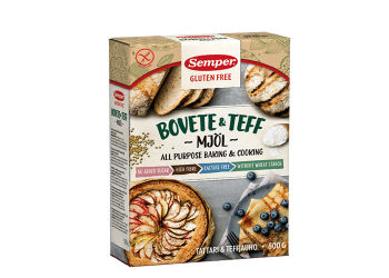 Semper Boghvede & Teff Mel