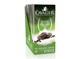Cavalier Mørk Chokolade med Stevia