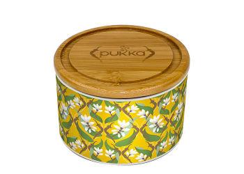 Pukka  Keramik Krukke Turmeric Gold M. 10 Tebreve Ø