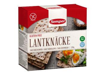 Semper Knækbrød land glutenfri