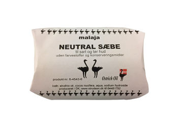 Struds sæbe neutral Ostrich  Oil