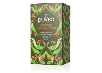 Pukka Ginseng Matcha Green