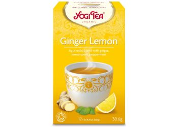 Yogi Tea Ginger Lemon Te