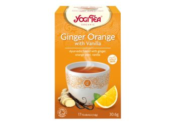 Yogi Tea Ginger Orange m. Vanilje Te