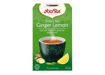Yogi Tea Green Tea Ginger Lemon Te