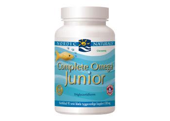 Nordic Naturals Complete Omega Junior m. Citrussmag