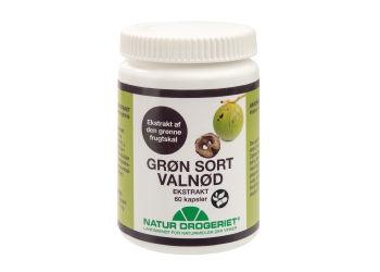 Natur-Drogeriet Valnøtt Ekstrakt Grønn Sort 450 Mg