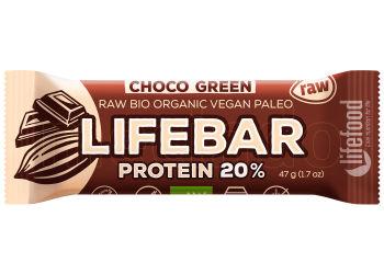 AbsorBurn Lifebar Choco Green Proteinbar