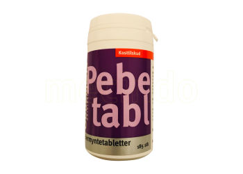 Obbekjaers Oil Of Peppermint Tablets