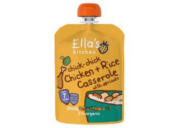 Ellas Kitchen Puré med Kyckling, Ris och Grönsaker