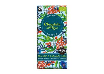 Chocolate and Love Choklad Sea Salt EKO