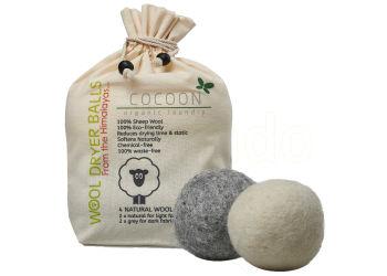 Cocoon Organic Laundry Uld Tørrebolde 4 Stk.
