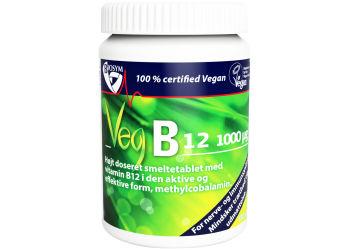 Biosym Veg B12 Vitamin, Smeltetablet