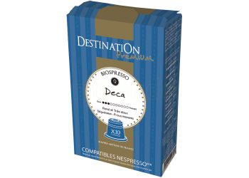 Destination Kaffekapsler Koffeinfri Ø til Arabica 100% Nespresso