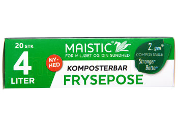 Maistic Komposterbare Fryseposer 4l