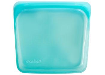 Stasher Gjenbrukbar Silikon Pose - Medium Aqua