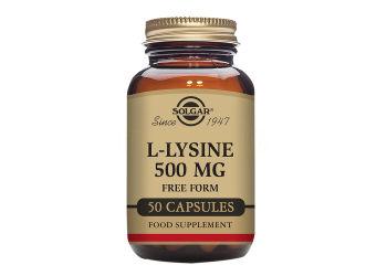 Solgar L-Lysin Aminosyre