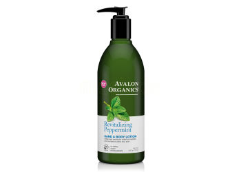 Avalon Organics Hand & Bodylotion Peppermint Revitalizing