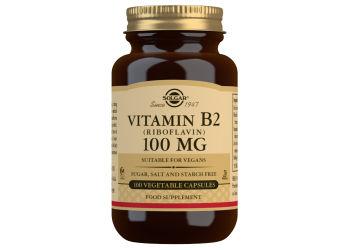 Solgar Riboflavin (B2) 100 Mg