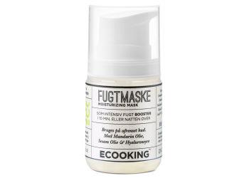 Ecooking Maske fugtgivende med hyaluronsyre og mandelolie
