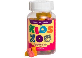 Kids Zoo Kalk + Vitamin D Tuggdjur