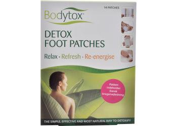 Bodytox Detox Foot Patches  Prøvepakke Indh.2 Stk