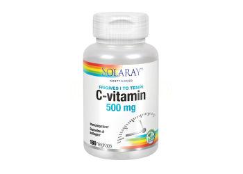 Solaray C-vitamin