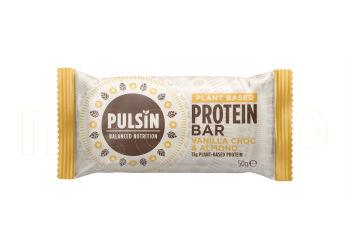 Pulsin Proteinbar Vanilla & Chocolate Chip 50g