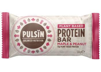 Pulsin Proteinbar Maple & Peanut