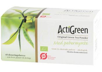 Grönt Te Med Pepparmynta Acti Green