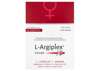 L-Argiplex X6 kvinde | 60 Tabletter kun 257,95 kr | mecindo.dk