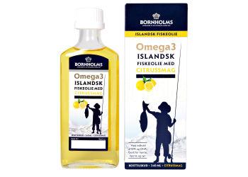Lysi Islandsk Flydende Fiskeolie m. Citrus