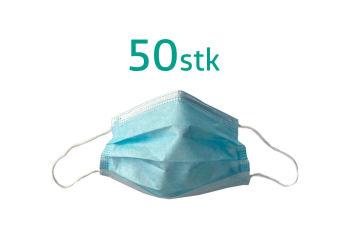 Munnbind m. Strikk 50 stk Type 2