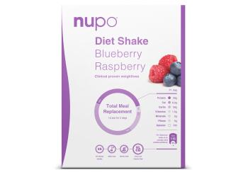 Nupo Diet Shake Hindbær & Blåbær