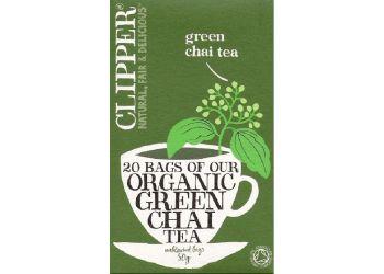 Clipper Grønn Chai Te
