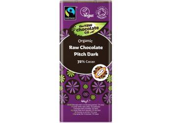 Pitch Dark Chokoladebar - The Raw Chocolate Co.