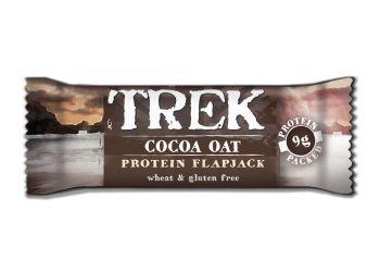 Trek Cocoa & Oat Flapjack