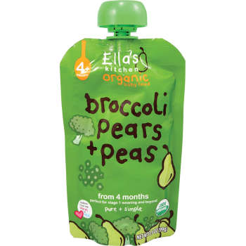 Ellas Kitchen Purée Broccoli, Päron & Ärtor