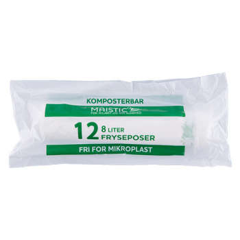 Maistic Komposterbare Fryseposer 8l
