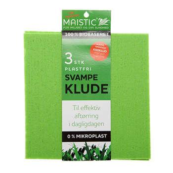 Maistic Svampeklude 3 Stk. Fri For Microfiberplast