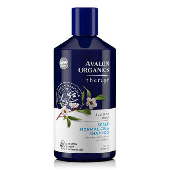 Avalon Organics Shampoo Tea Tree Mint Scalp Normalizing