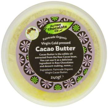 The Raw Chocolate Company Virgin Cacao Butter