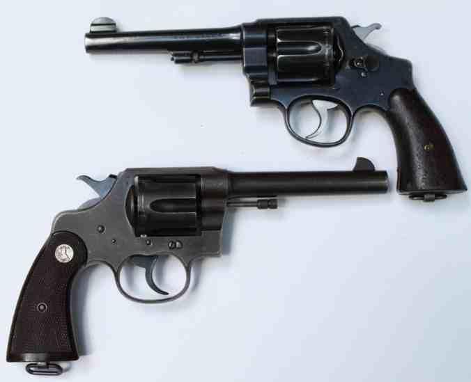 45 Caliber Revolver - M1917